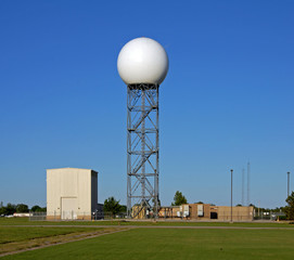 national weather service doppler radar dome