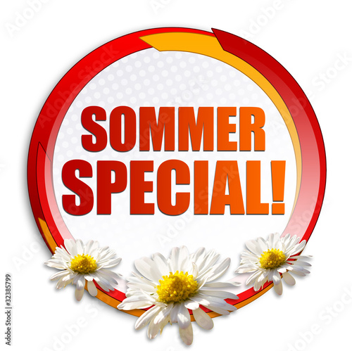 Sommer Special! Button, Icon