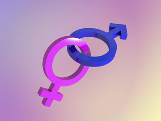 male female gender symbols