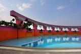 Beautiful pool poster
