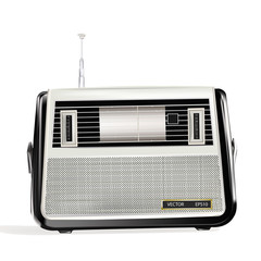 The retro a radio receiver