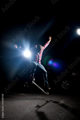 Cool Skateboarder Guy