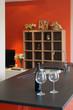 cuisine moderne rouge et noir # 23
