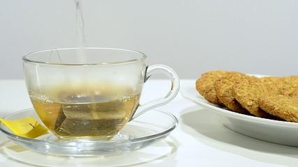 tè a colazione