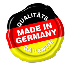 made in germany siegel qualitätsgarantie