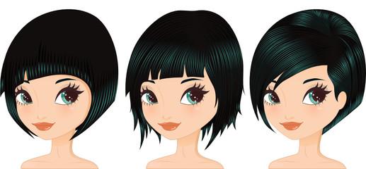 Set Short Haircut