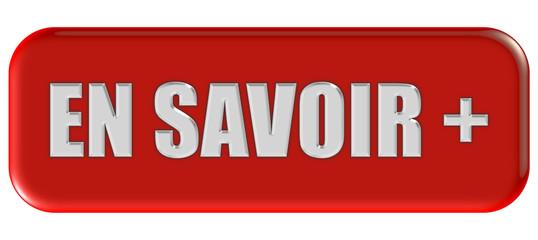 Button rot Ecken rund EN SAVOIR +