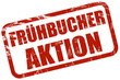 Grunge Stempel rot FRÜHBUCHER AKTION