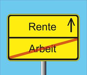 Arbeit-Rente