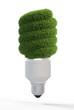 Grassy light bulb