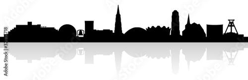 Silhouette Bochum (Skyline)