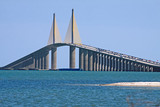 Sunshine Skyway Bridge,Tampa Bay,Florida poster