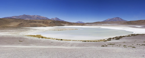 Laguna Hedionda en Nor Lipez, Bolivia