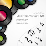 Music background # Vector