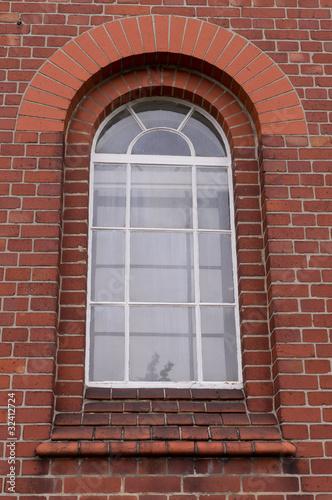 Rundbogen-Sprossenfenster