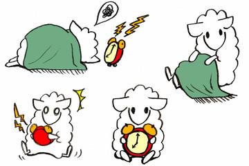 sheep-awake