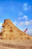 Monument Signal à Omaha Beach - St-Laurent-Sur-Mer poster