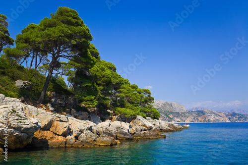 Island Lopud in Croatia