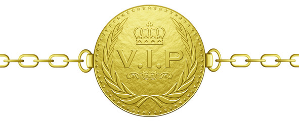 Golden V.I.P. Chain