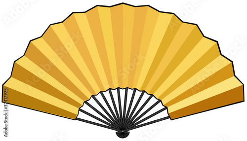 Chinese Fan Vector Chinese Japanese Fan Vector