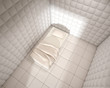 mental hospital padded room from above