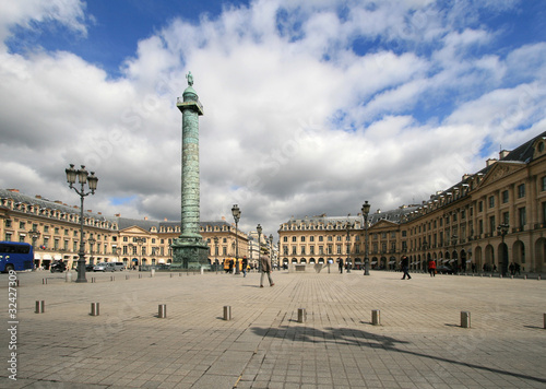 Place Vendome on April 04, 2011 in Paris.