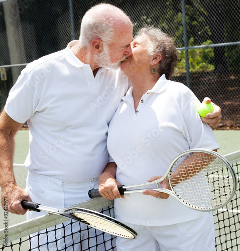 Love on the Tennis Court