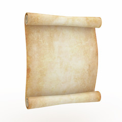 Vintage aged papyrus