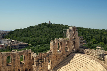Theater of Herodes Atticus in Athens, Greece