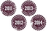Klasse von 2011-2014 Briefmarken