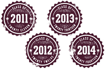 Class of 2011-2014 Stamps