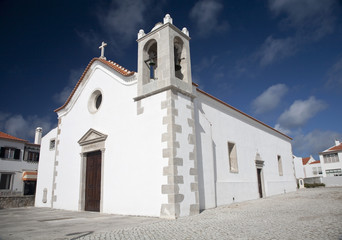 Church in Peniche, Portugal.