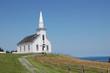 white church in canada