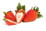 Strawberry fresh on isolated