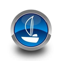 Sailboat button