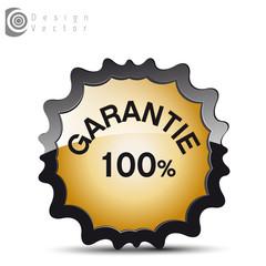 icône 100% garantie