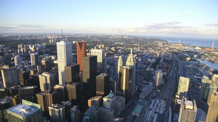 Toronto Skyline Timelapse