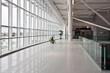 Leinwanddruck Bild - New Bucharest Airport - 2011