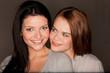 two pretty girlfriends