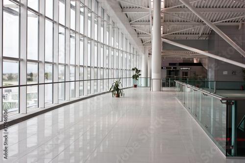 Leinwanddruck Bild New Bucharest Airport - 2011