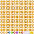 Orange Pastille Iconset (165 icons)