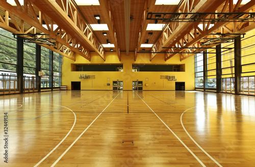 Fotobehang Fitness modern gym