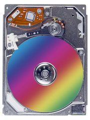 Modern open hard disks macro
