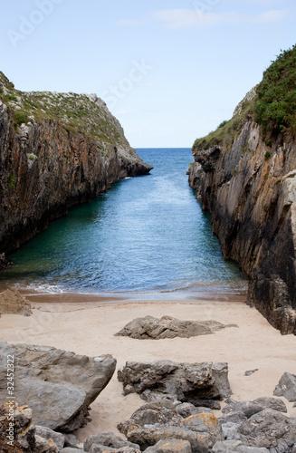 Beach of Nueva de Llanes