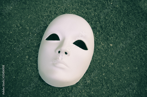 White mask for different concepts