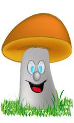 Il funghetto felice - The happy little mushroom