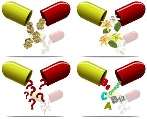 Pills content
