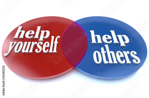 Helf Yourself and Others - Venn Diagram