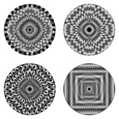 Ipnosi Ipnotico Simbolo-Hypnotic Symbols-Vector
