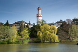 Bad Homburg Schloss and Lake